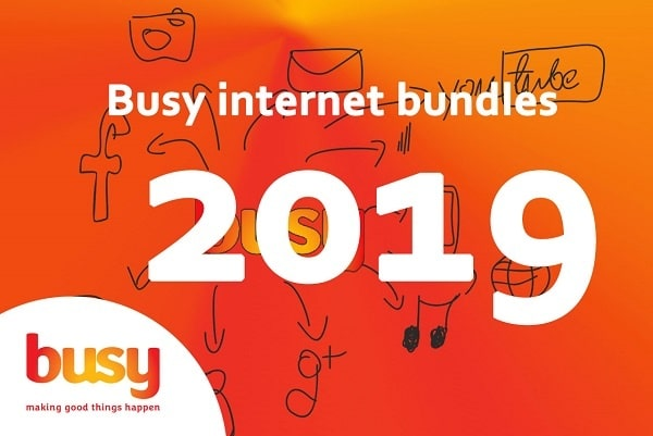 Busy Ghana Internet Packages and Prices 2019.