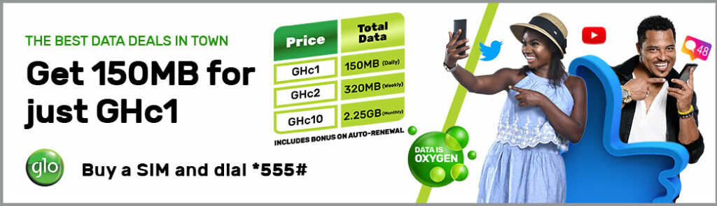 Glo Ghana Internet Bundles, Prices and Free Browsing  - PC