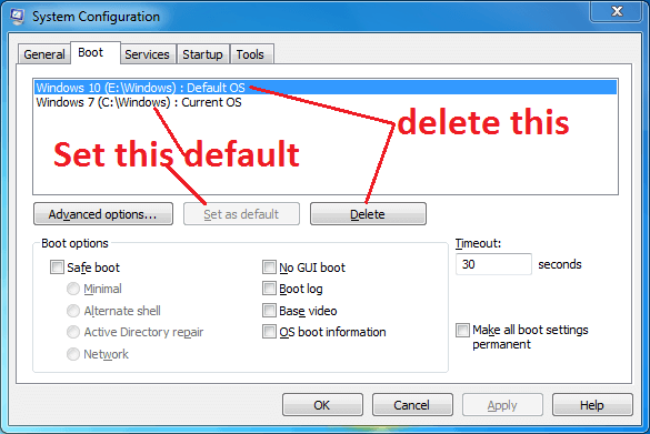 How To Remove Dual Boot Menu In Windows 10.
