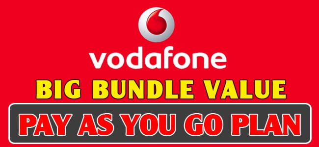 vodafone red bundles