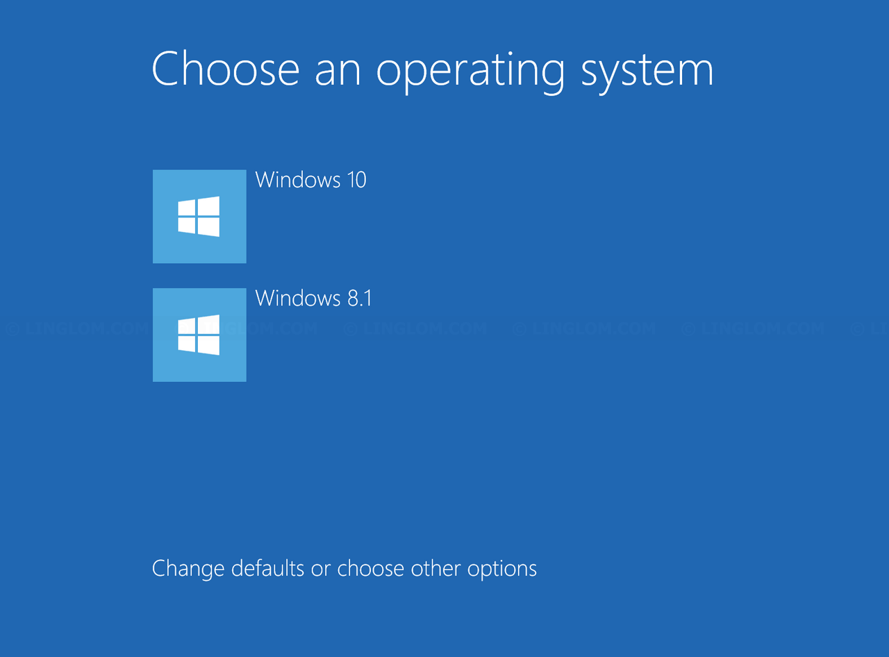 Remove Dual Boot Option From Windows 10