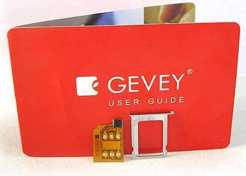 gevey sim prices