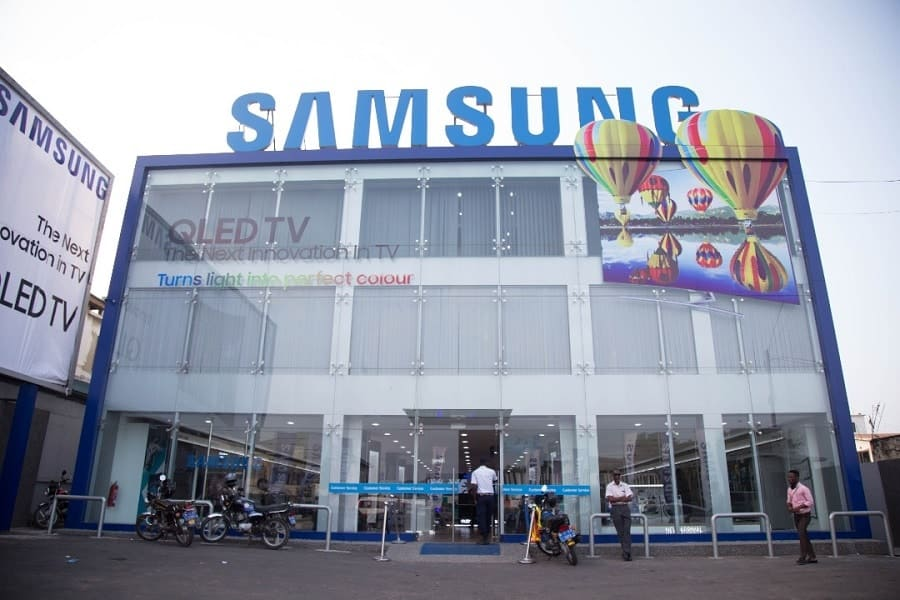 samsung offices ghana