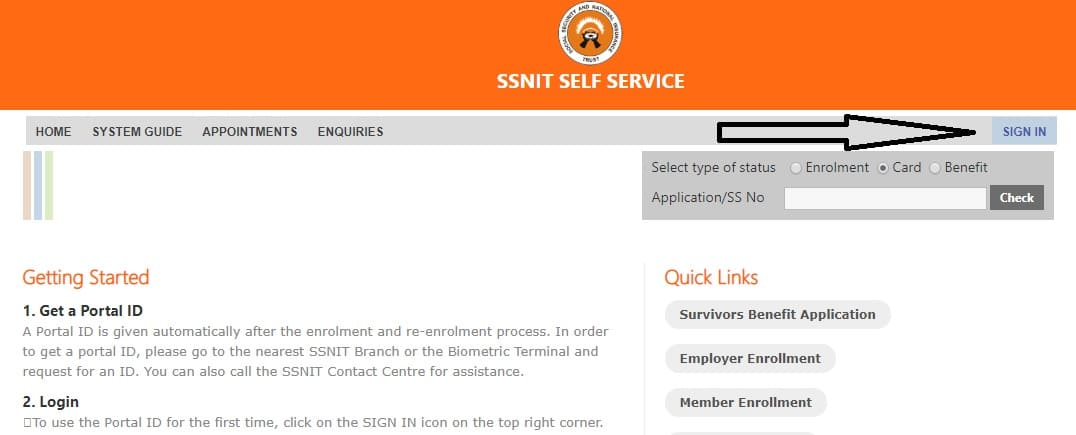 How to Check Your SSNIT Contributions Online