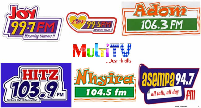 fm stations ghana