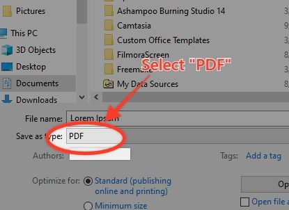 How To Convert Word Document Into Pdf