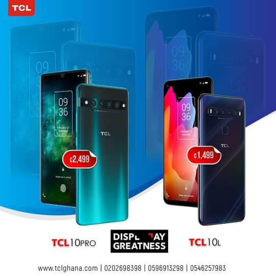 TCL 10Pro Mobile Phones Out Now!