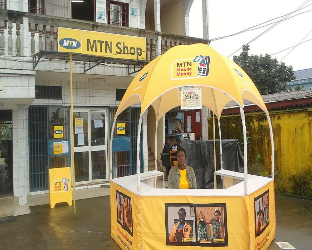 mtn mobile money merchant